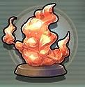 サラマンダーの像